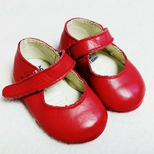 Gap Red Leather Infant Shoes Size 1